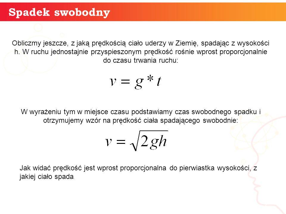 Spadek swobodny informaty +