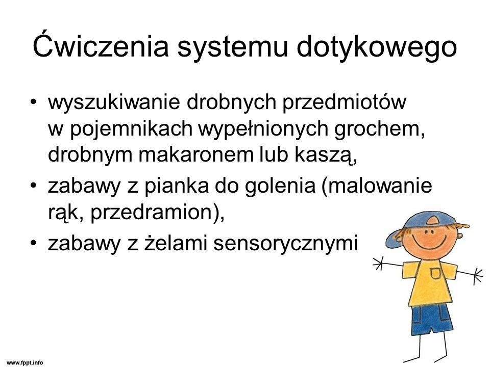 Ćwiczenia systemu dotykowego