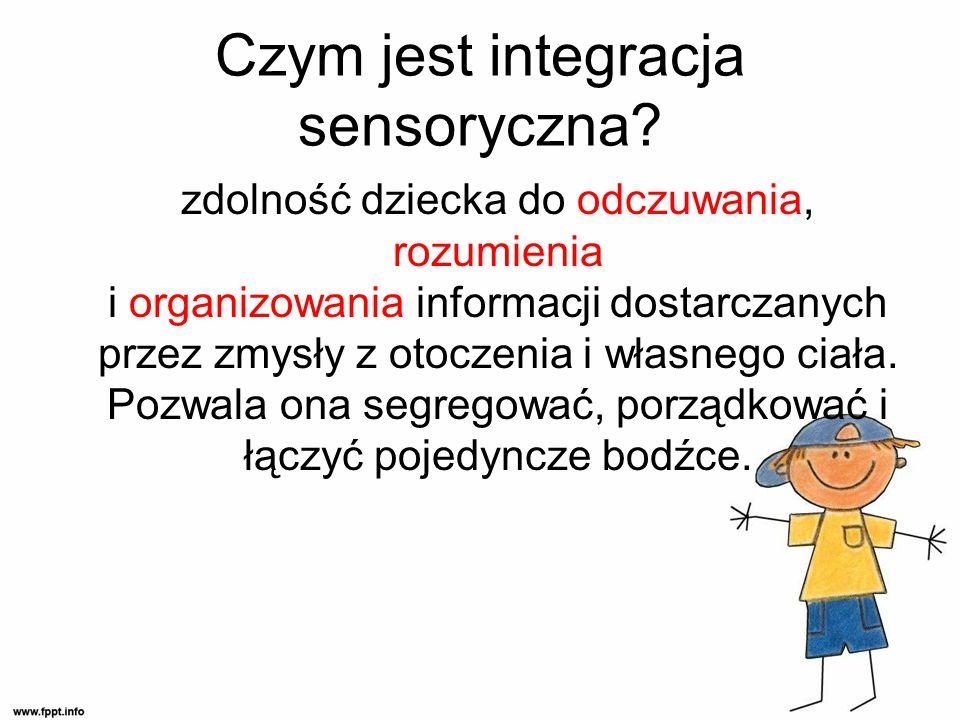 Czym jest integracja sensoryczna