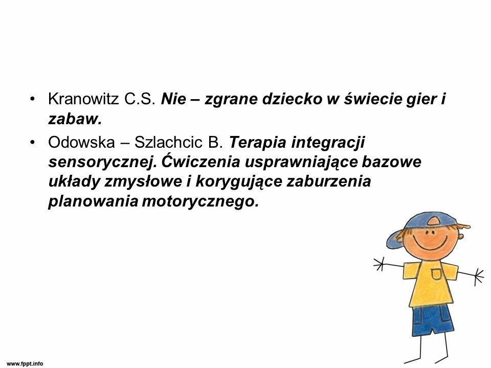 Kranowitz C.S. Nie – zgrane dziecko w świecie gier i zabaw.