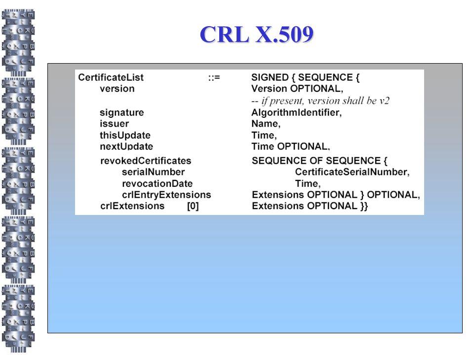 CRL X.509