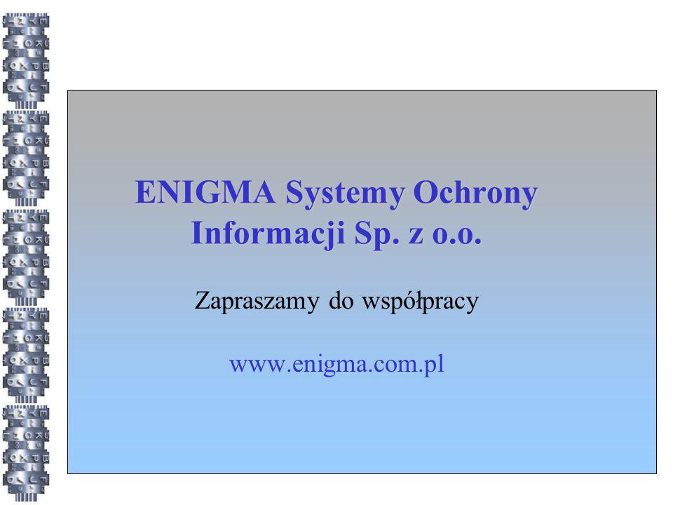 ENIGMA Systemy Ochrony Informacji Sp. z o.o.