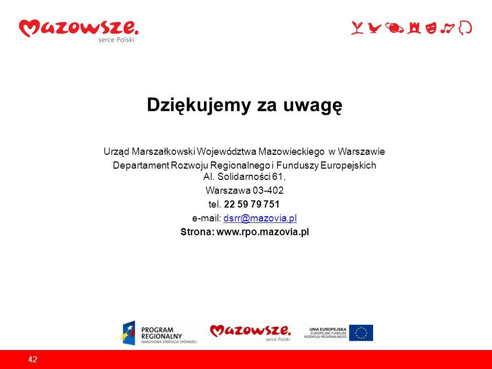 Strona: www.rpo.mazovia.pl