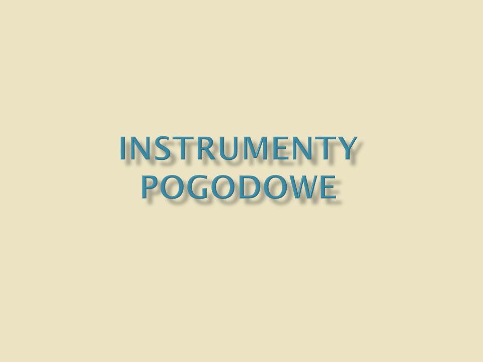 Instrumenty pogodowe