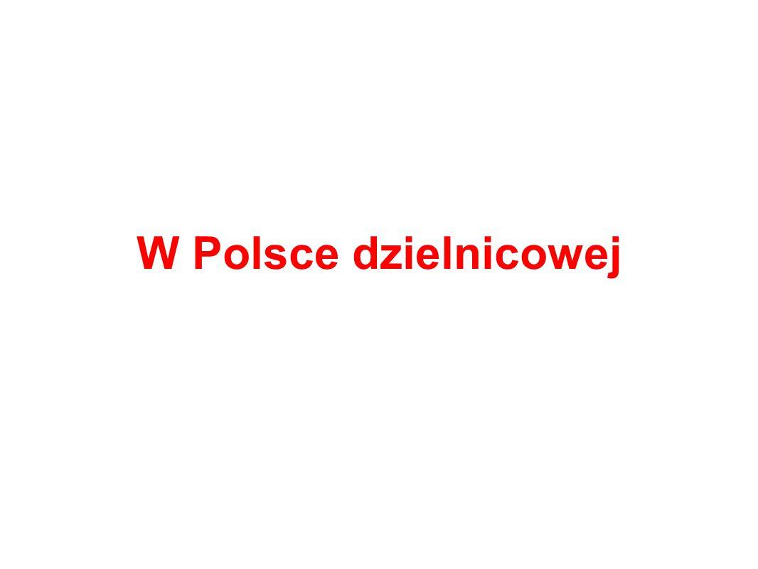 W Polsce dzielnicowej