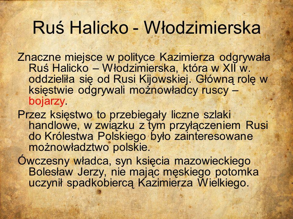 Ruś Halicko - Włodzimierska