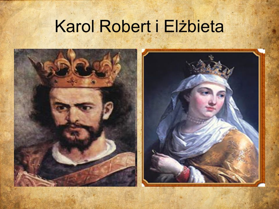 Karol Robert i Elżbieta