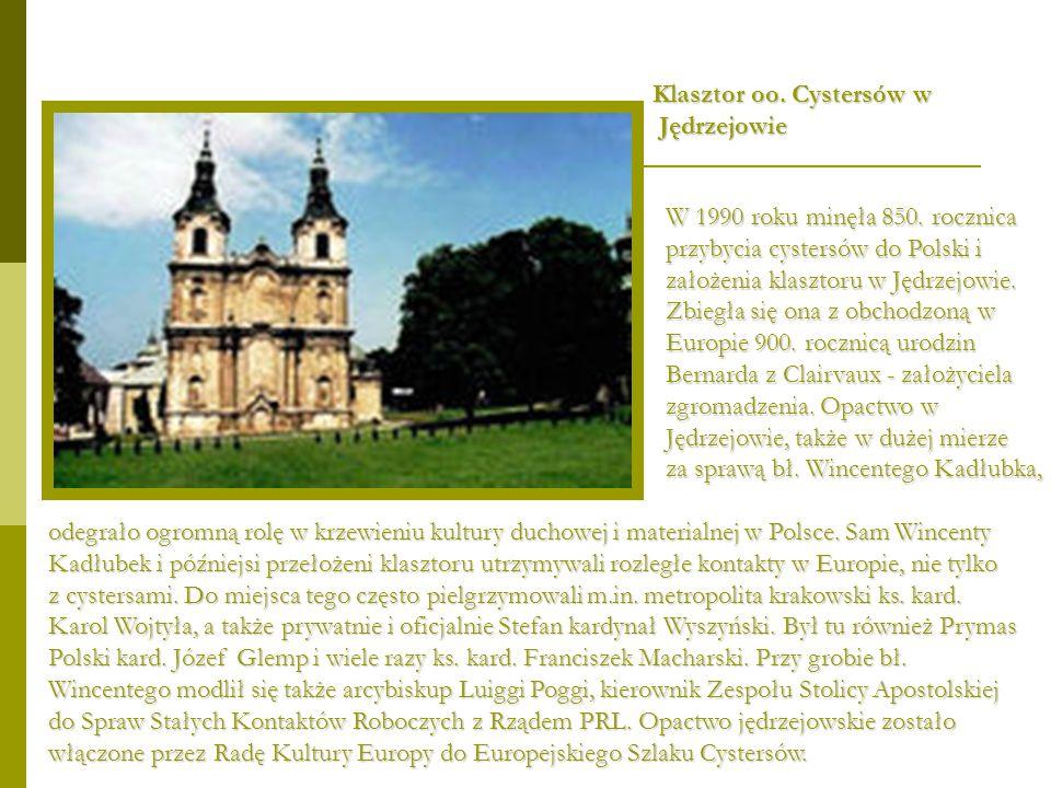 Klasztor oo. Cystersów w