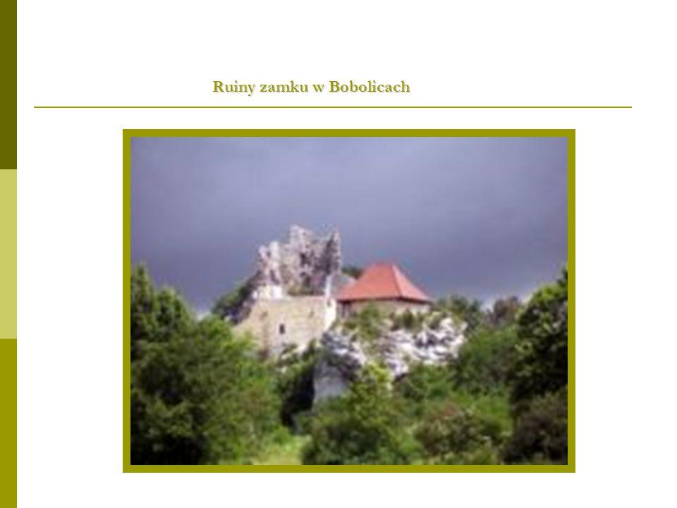 Ruiny zamku w Bobolicach