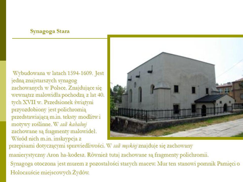Synagoga Stara