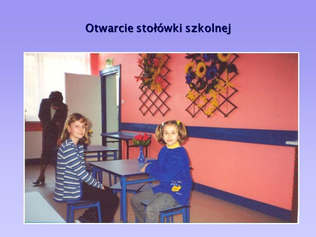 Otwarcie stołówki szkolnej