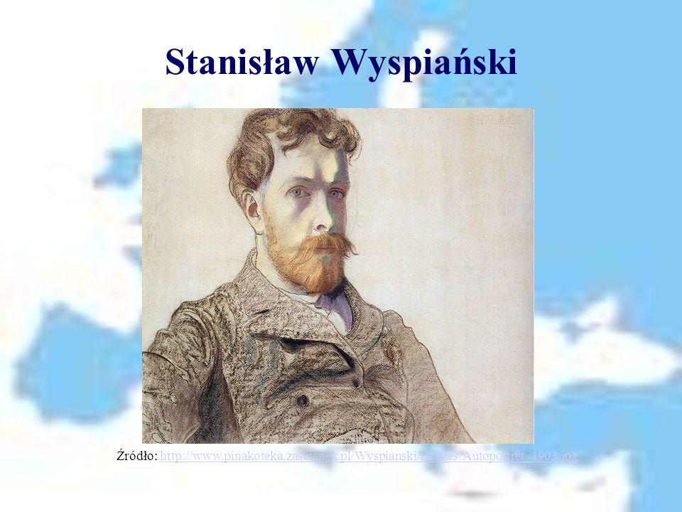 Stanisław Wyspiański Źródło: http://www.pinakoteka.zascianek.pl/Wyspianski/Images/Autoportret_1903.jpg.
