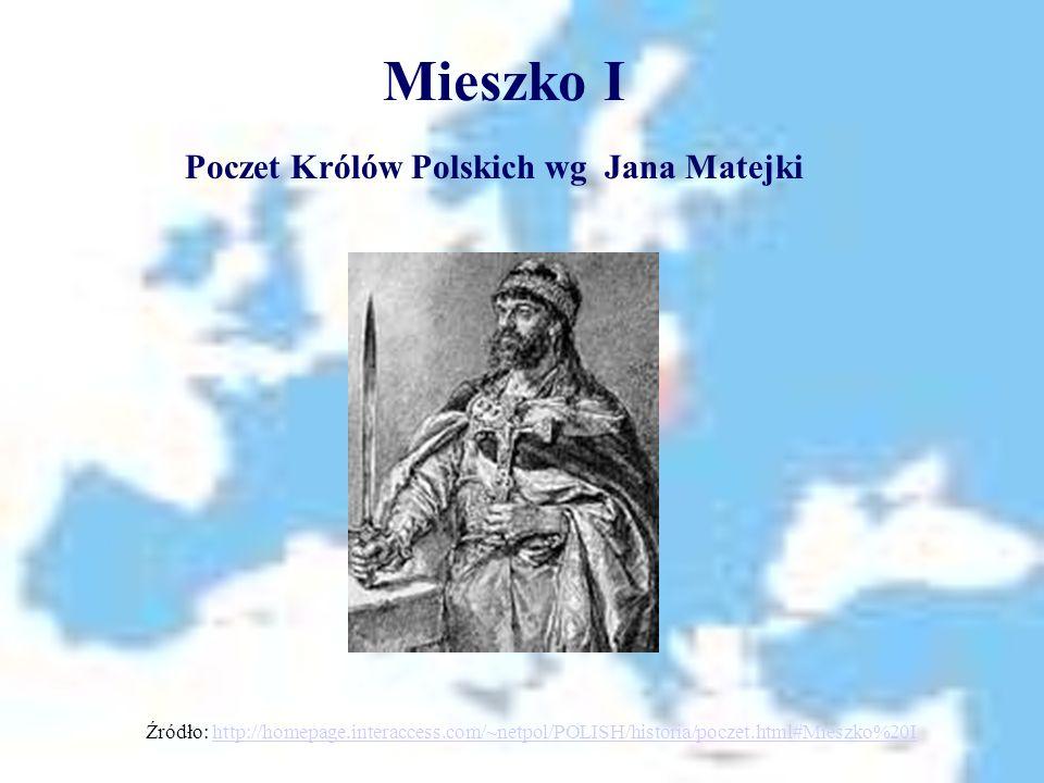 Mieszko I Poczet Królów Polskich wg Jana Matejki