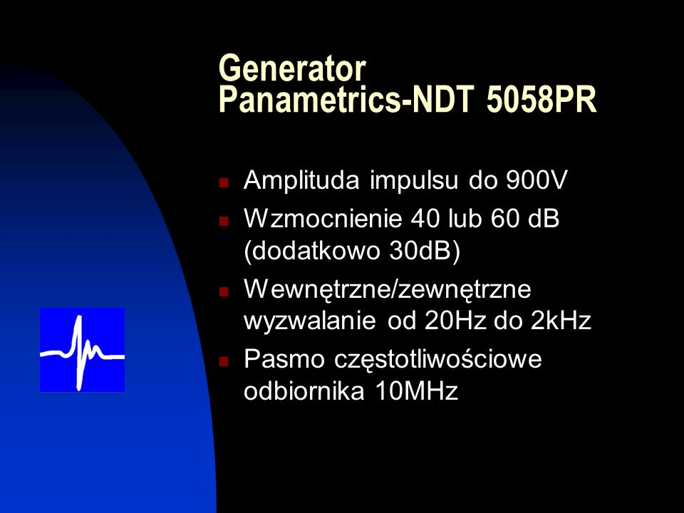 Generator Panametrics-NDT 5058PR