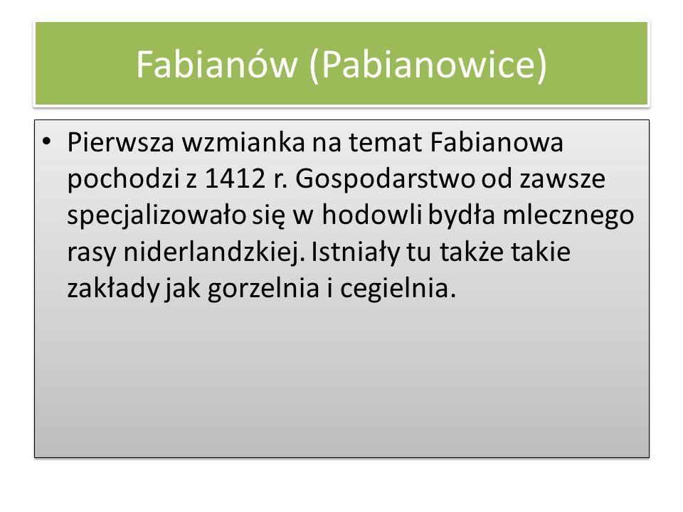 Fabianów (Pabianowice)