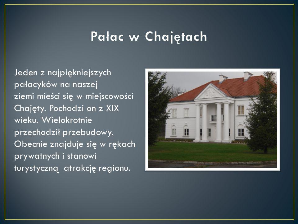 Pałac w Chajętach