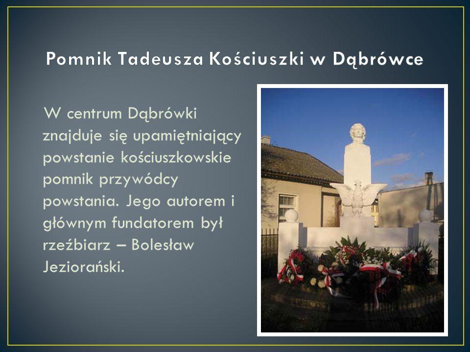Pomnik Tadeusza Kościuszki w Dąbrówce