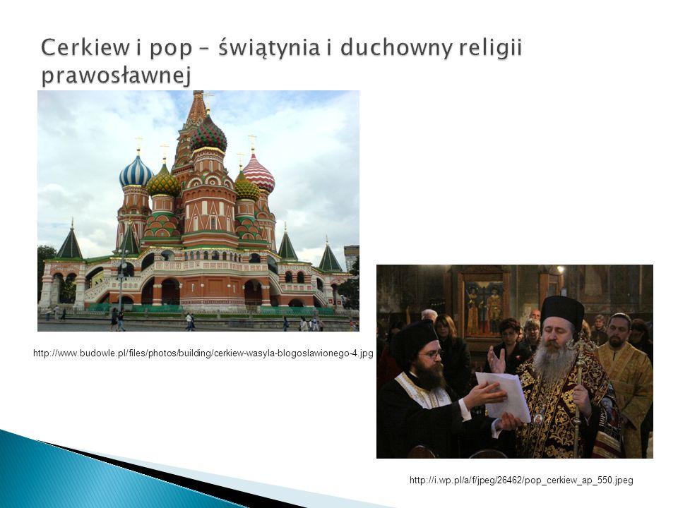 Cerkiew i pop – świątynia i duchowny religii prawosławnej