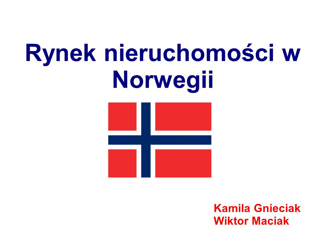 Rynek nieruchomości w Norwegii