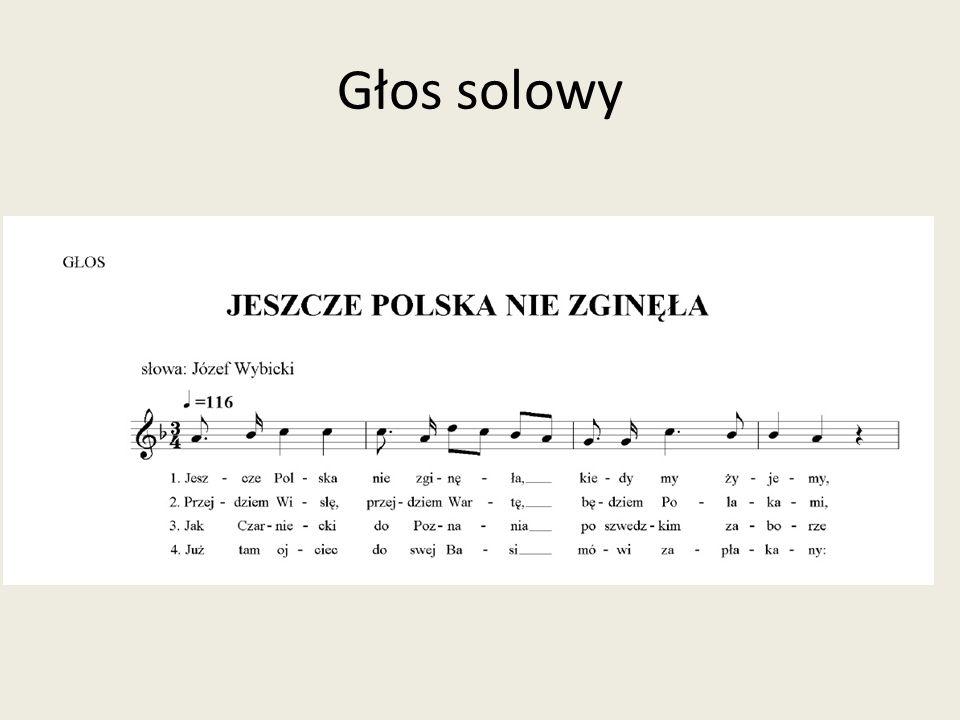 Głos solowy