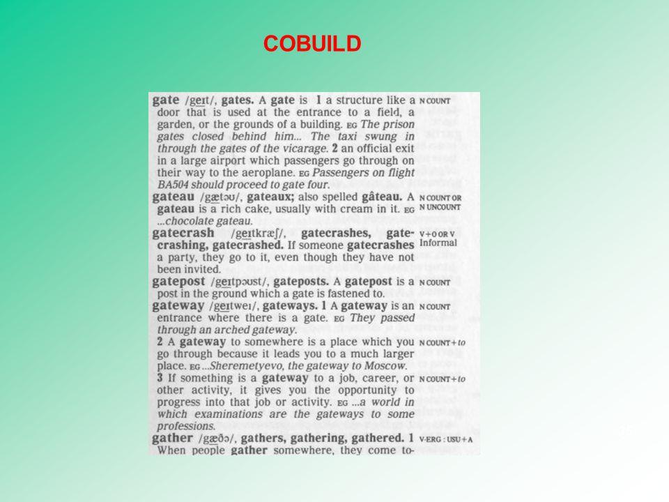 COBUILD