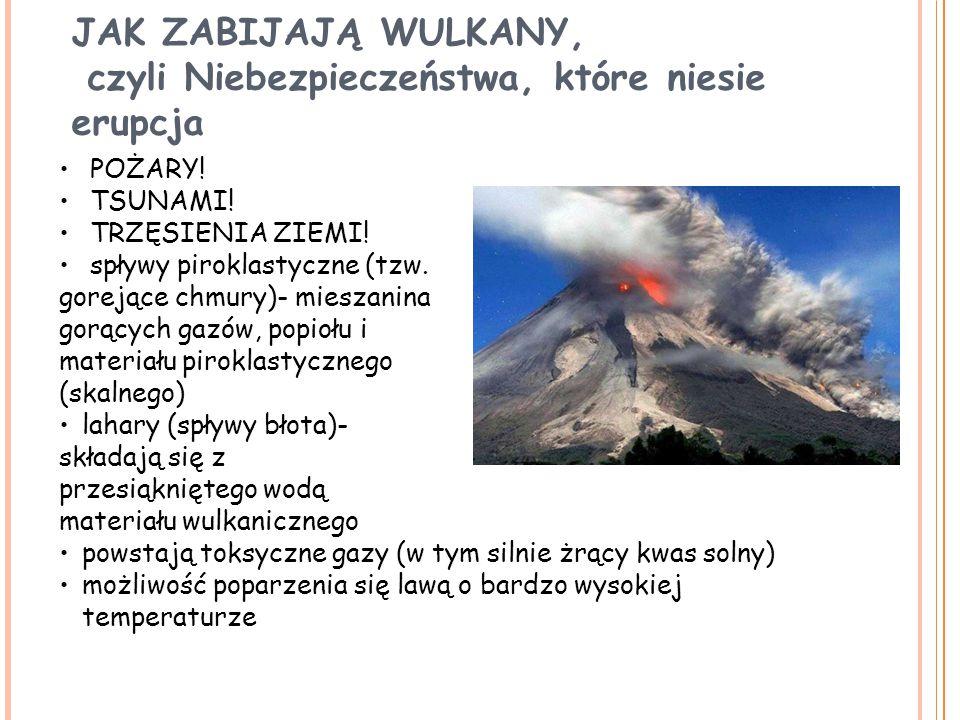 czyli Niebezpieczeństwa, które niesie erupcja