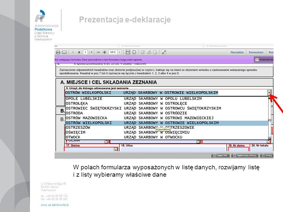 Prezentacja e-deklaracje
