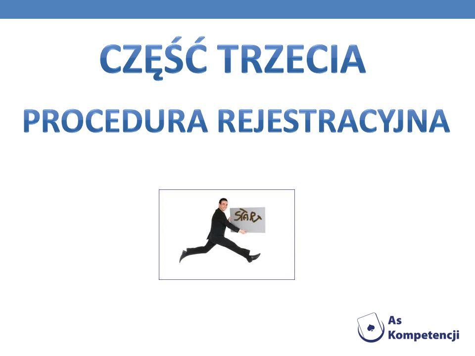 Procedura rejestracyjna
