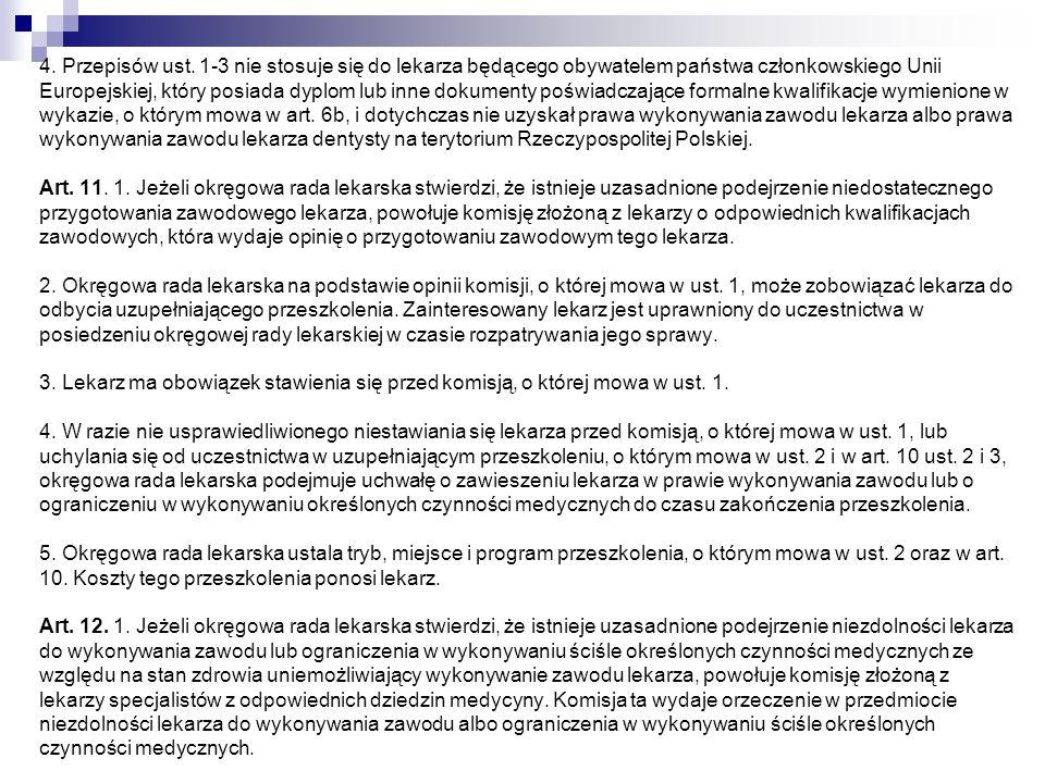 4. Przepisów ust.