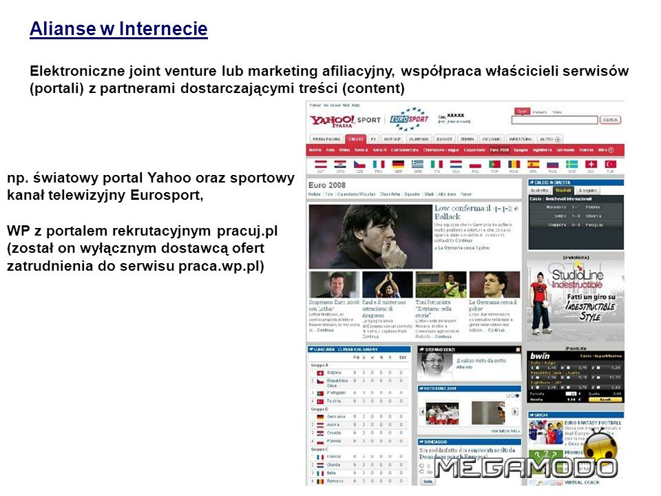 Alianse w Internecie