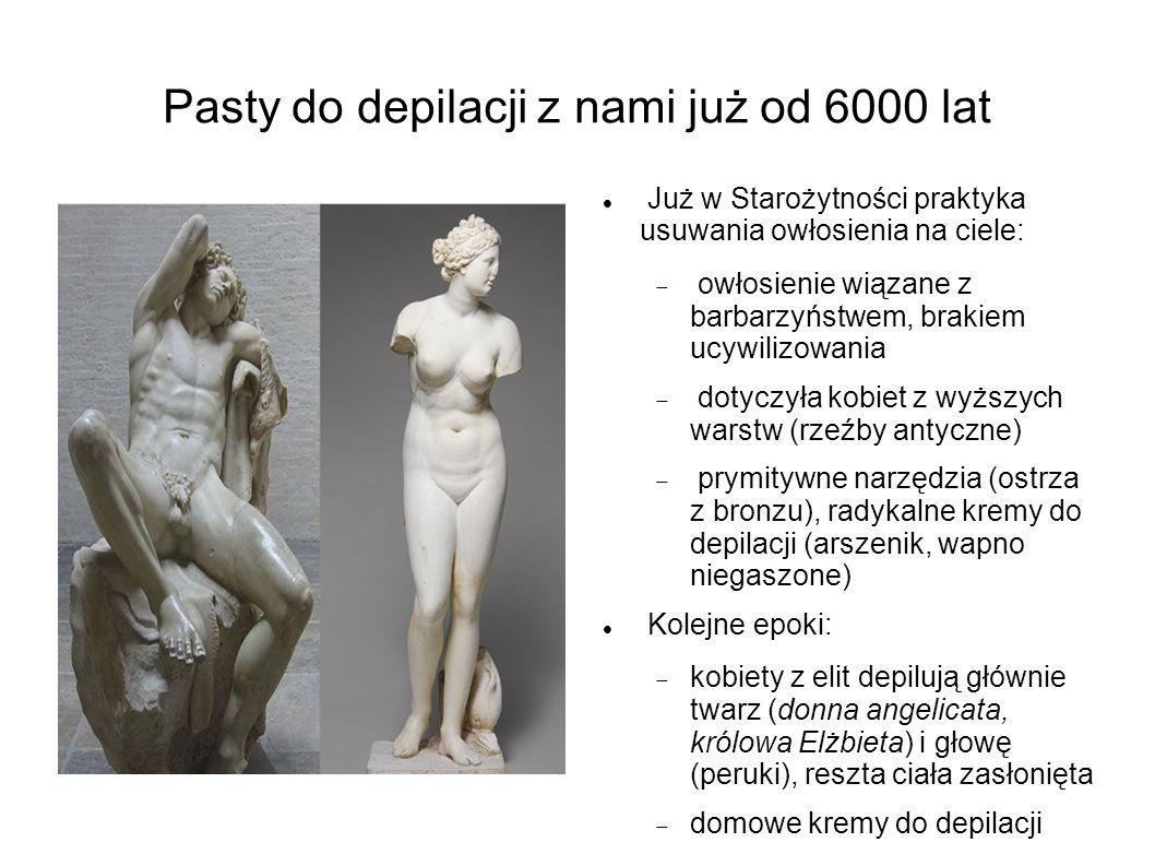 Pasty do depilacji z nami już od 6000 lat