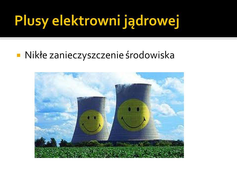 Plusy elektrowni jądrowej