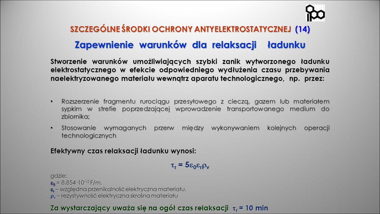 SZCZEGÓLNE ŚRODKI OCHRONY ANTYELEKTROSTATYCZNEJ (14)