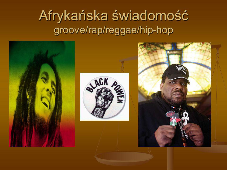 Afrykańska świadomość groove/rap/reggae/hip-hop