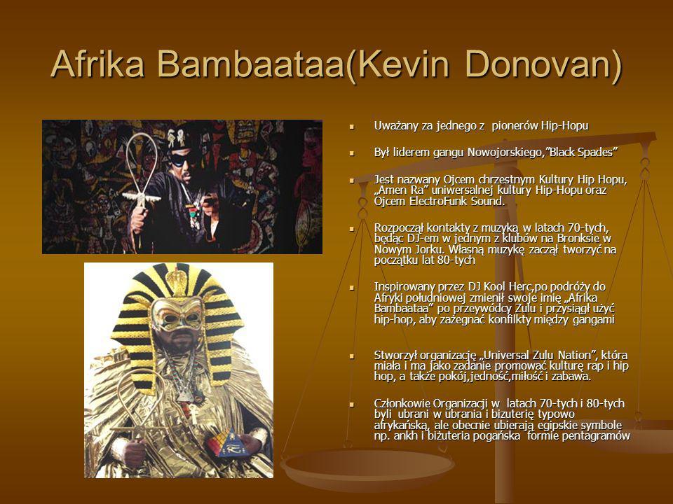 Afrika Bambaataa(Kevin Donovan)