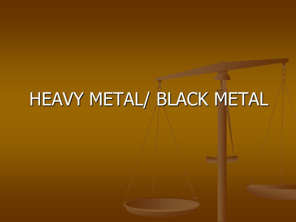 HEAVY METAL/ BLACK METAL