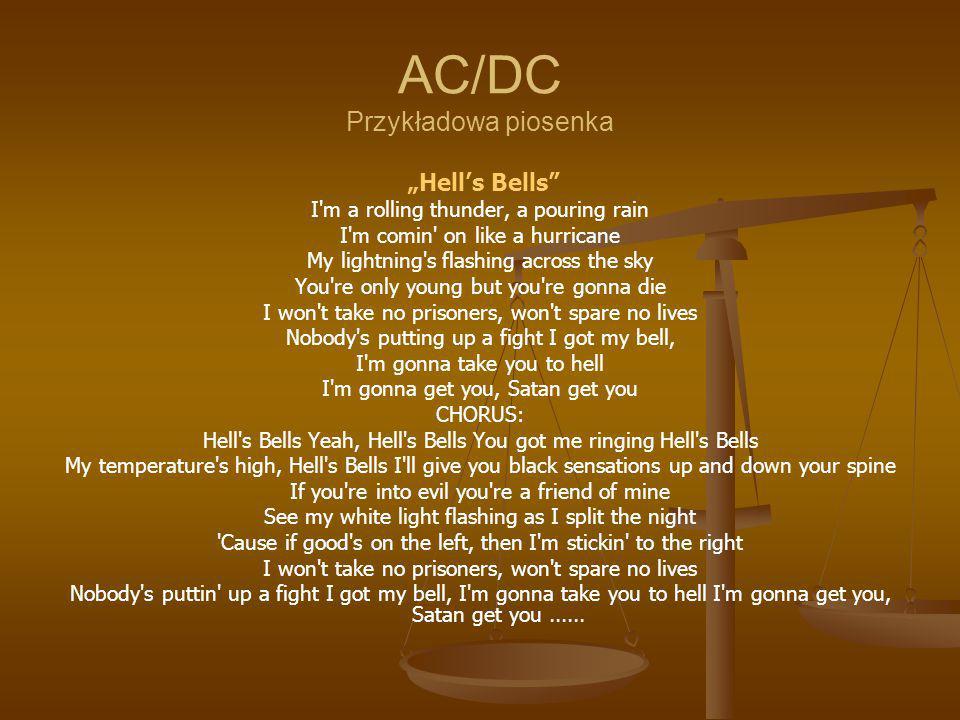 AC/DC Przykładowa piosenka