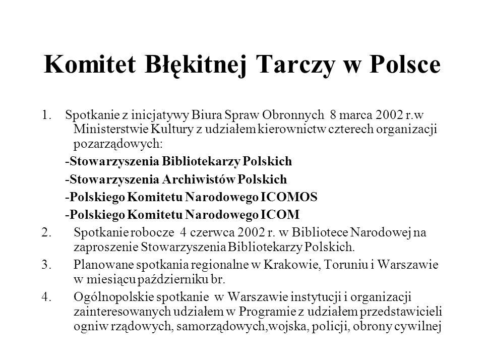 Komitet Błękitnej Tarczy w Polsce