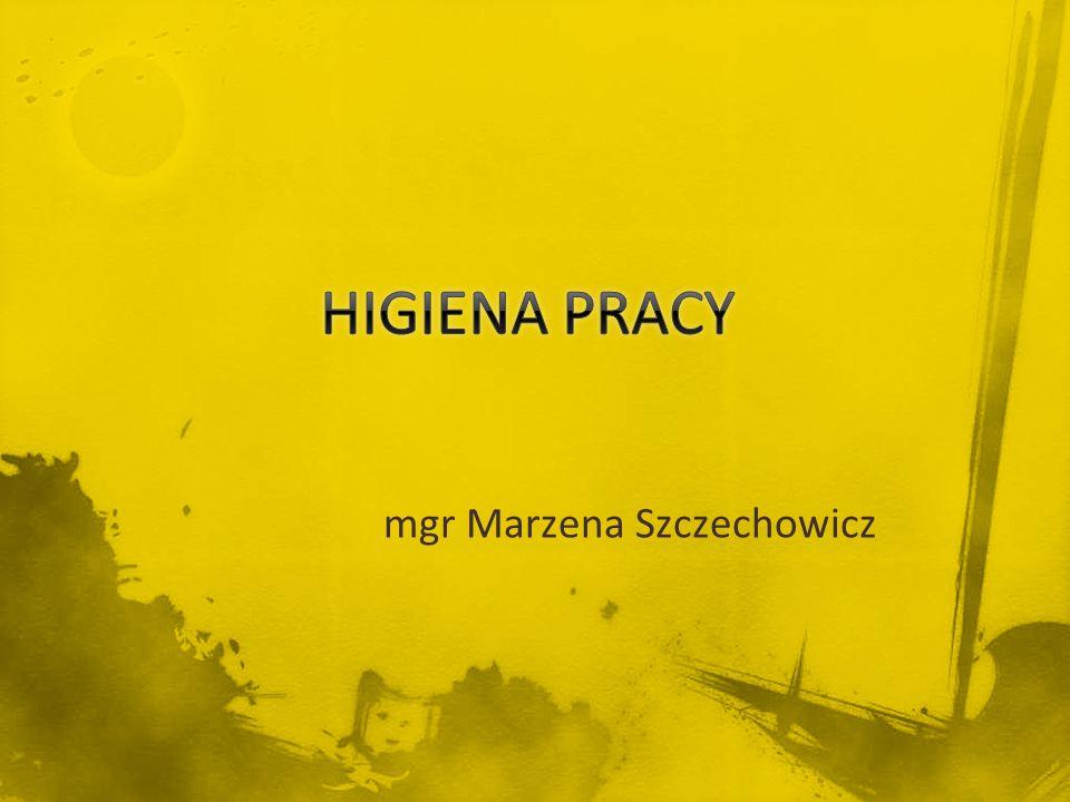 mgr Marzena Szczechowicz