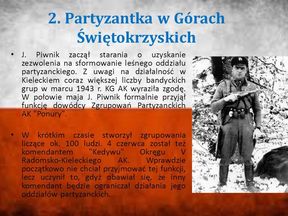 2. Partyzantka w Górach Świętokrzyskich