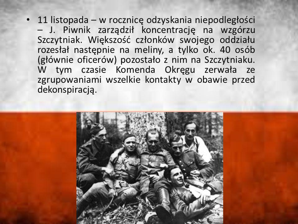 11 listopada – w rocznicę odzyskania niepodległości – J