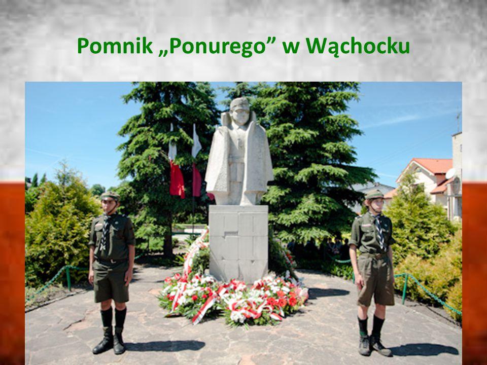 """Pomnik """"Ponurego w Wąchocku"""