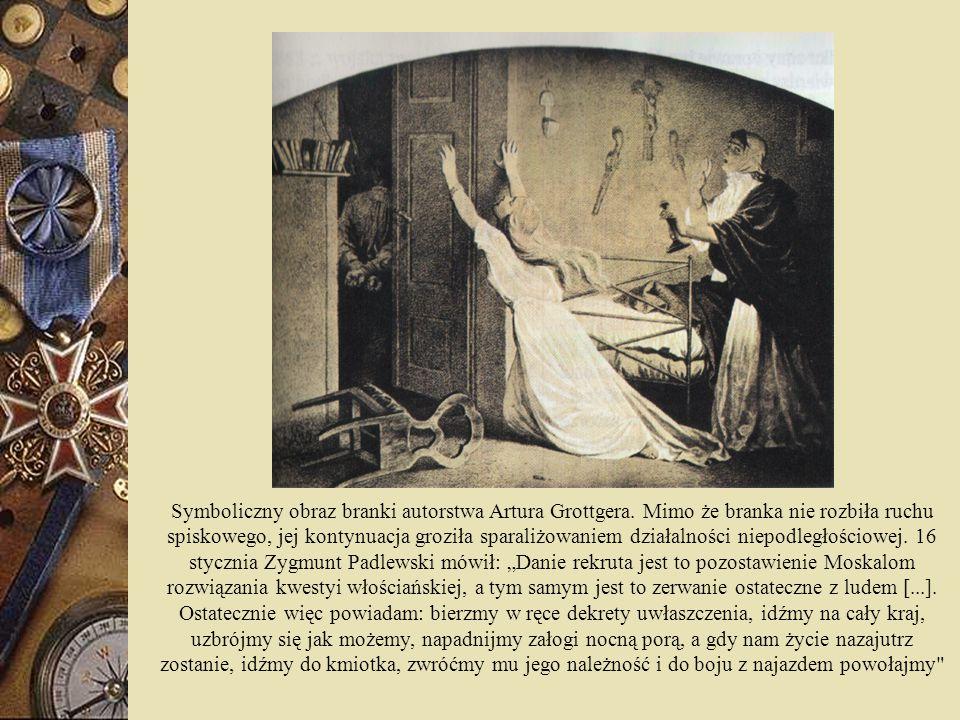 Symboliczny obraz branki autorstwa Artura Grottgera