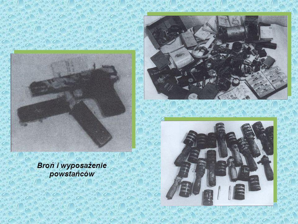 Broń i wyposażenie powstańców