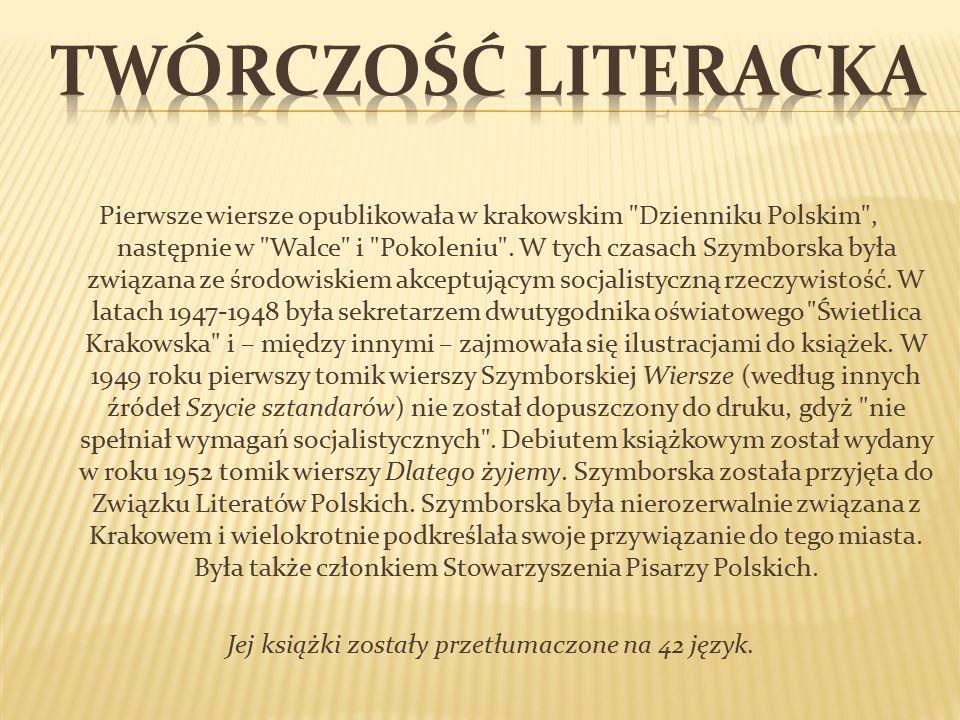 Twórczość literacka