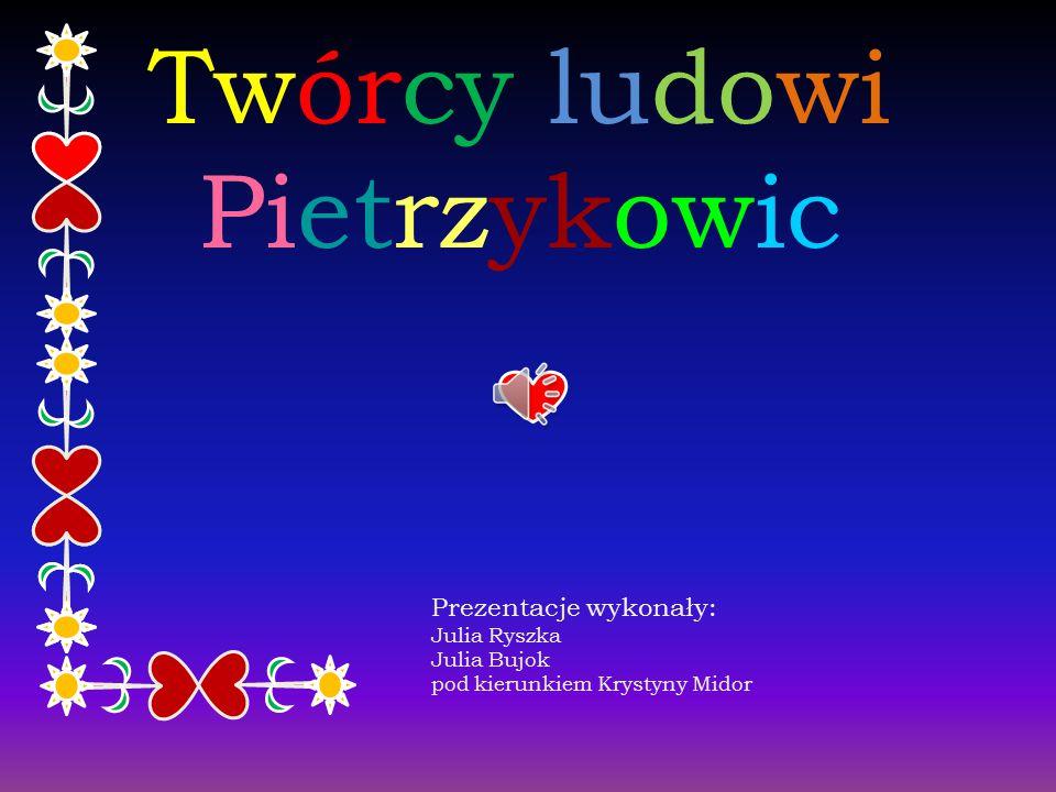 Twórcy ludowi Pietrzykowic