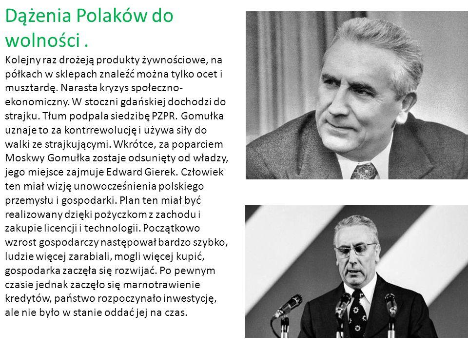 Dążenia Polaków do wolności