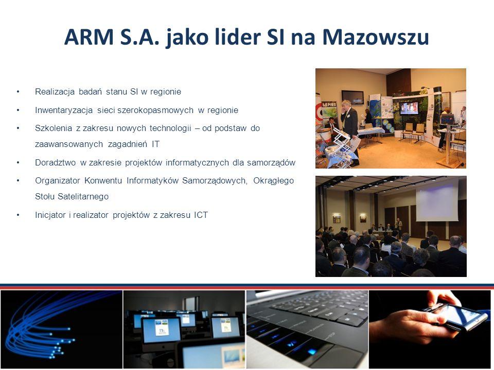 ARM S.A. jako lider SI na Mazowszu