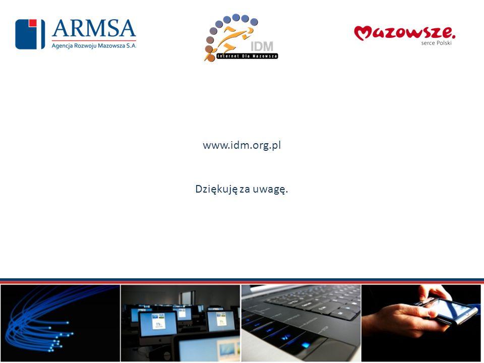 www.idm.org.pl Dziękuję za uwagę.
