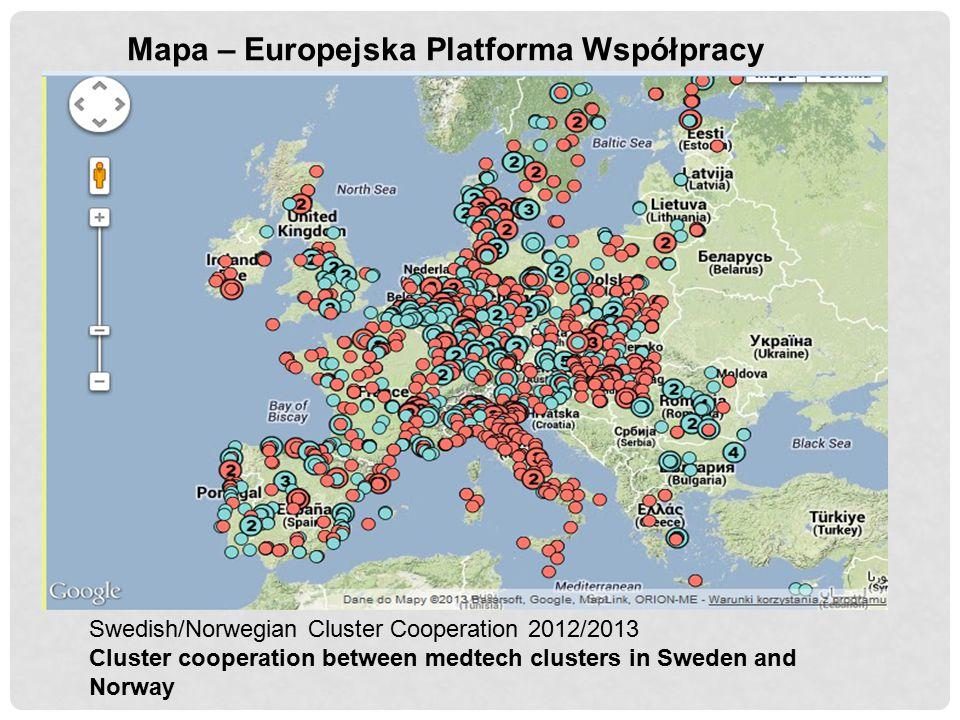 Mapa – Europejska Platforma Współpracy